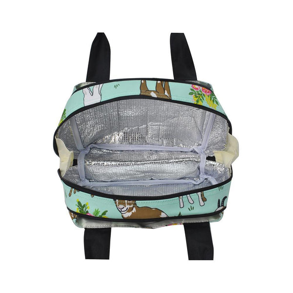 Goats insulated lunch bag.