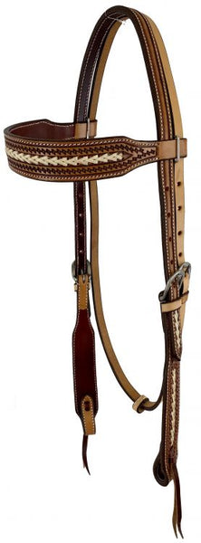 2 Tone Tooled Bridle