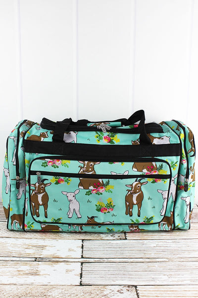 GOATS DUFFLE BAG 23""