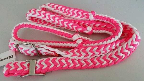 Barrel reins. 7ft Nylon