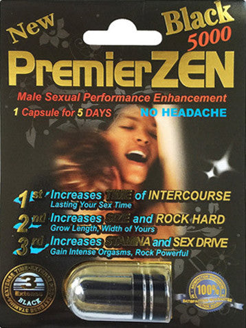 PREMIERZEN BLACK 5000 | 10 PACK