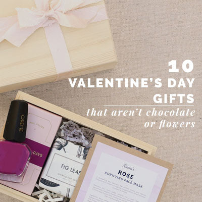 10 Valentine's Day Gifts That Aren't Flowers Or Chocolate