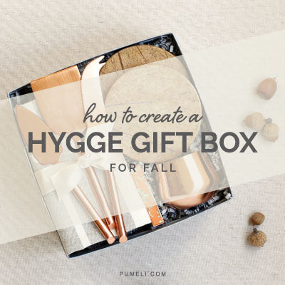 How to Create A Fall Hygge Gift Box