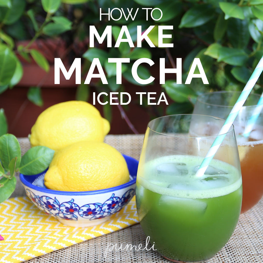 How to Make Iced Matcha Green Tea