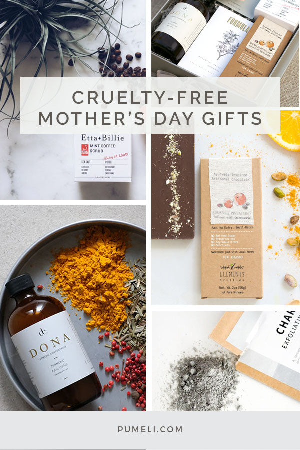 Unique Cruelty-Free Mother's Day gifts