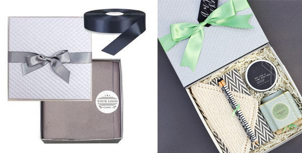 corporate gift branded packaging