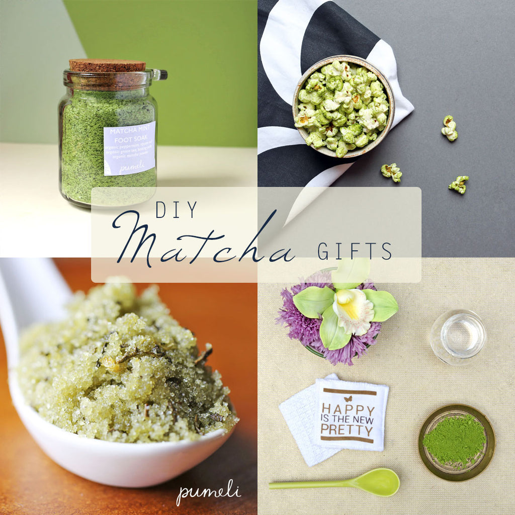 DIY Matcha Gifts