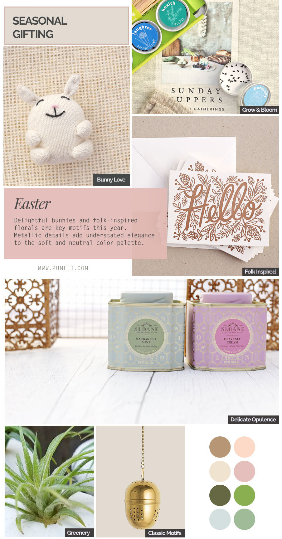 Easter Gift Mood Board