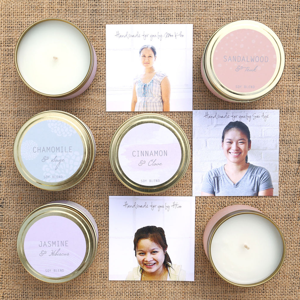 Essential Oils Fair Trade Candles