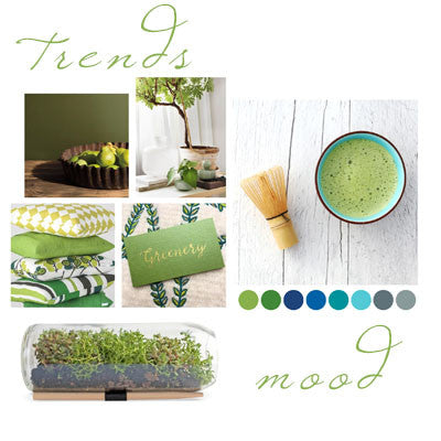 Greenery Mood Board