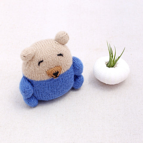 alpaca knit bear