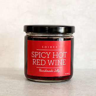 spicy hot red wine jelly