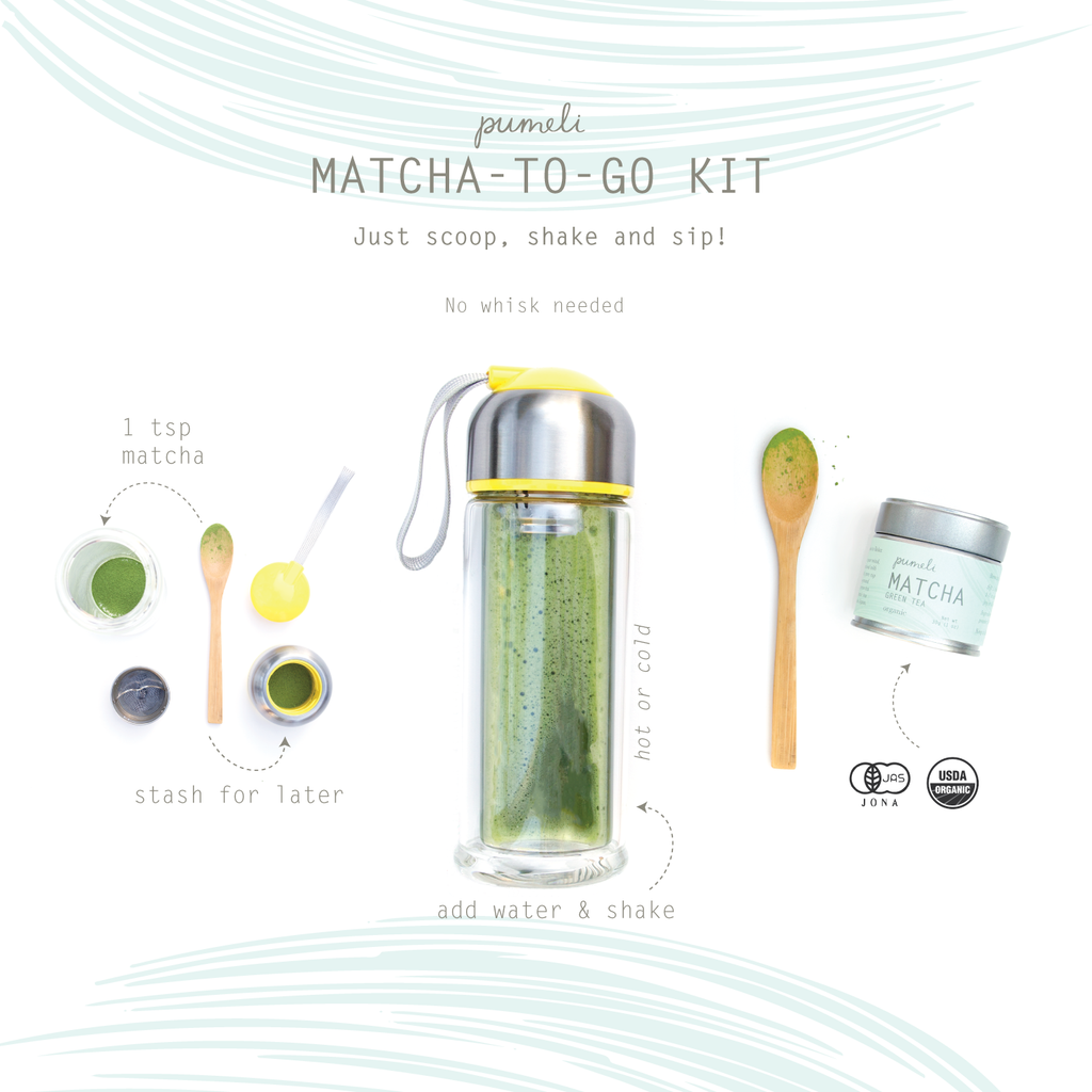 Matcha to Go set