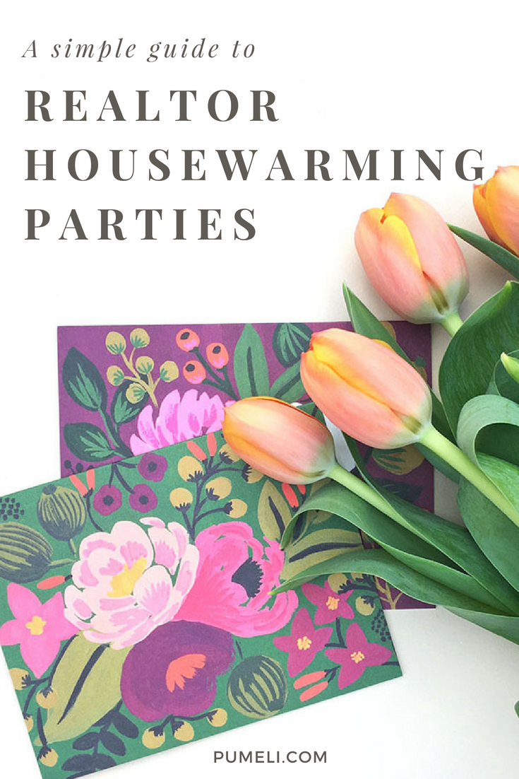 Tips to throw a great housewarming party for your real estate client