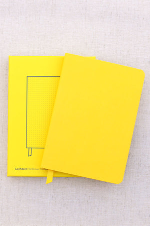 Baron Fig Yellow Gold Confidant Notebook