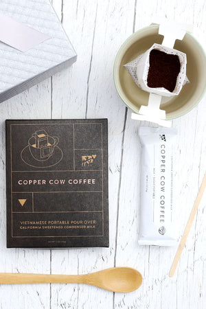 Copper Cow Pour Over Coffee Kit