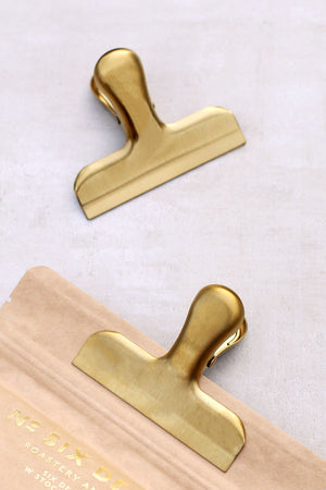 Gold Stainless Steel Clip