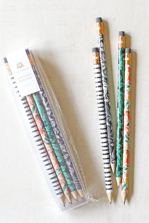Rifle Paper Folk Writing Pencils