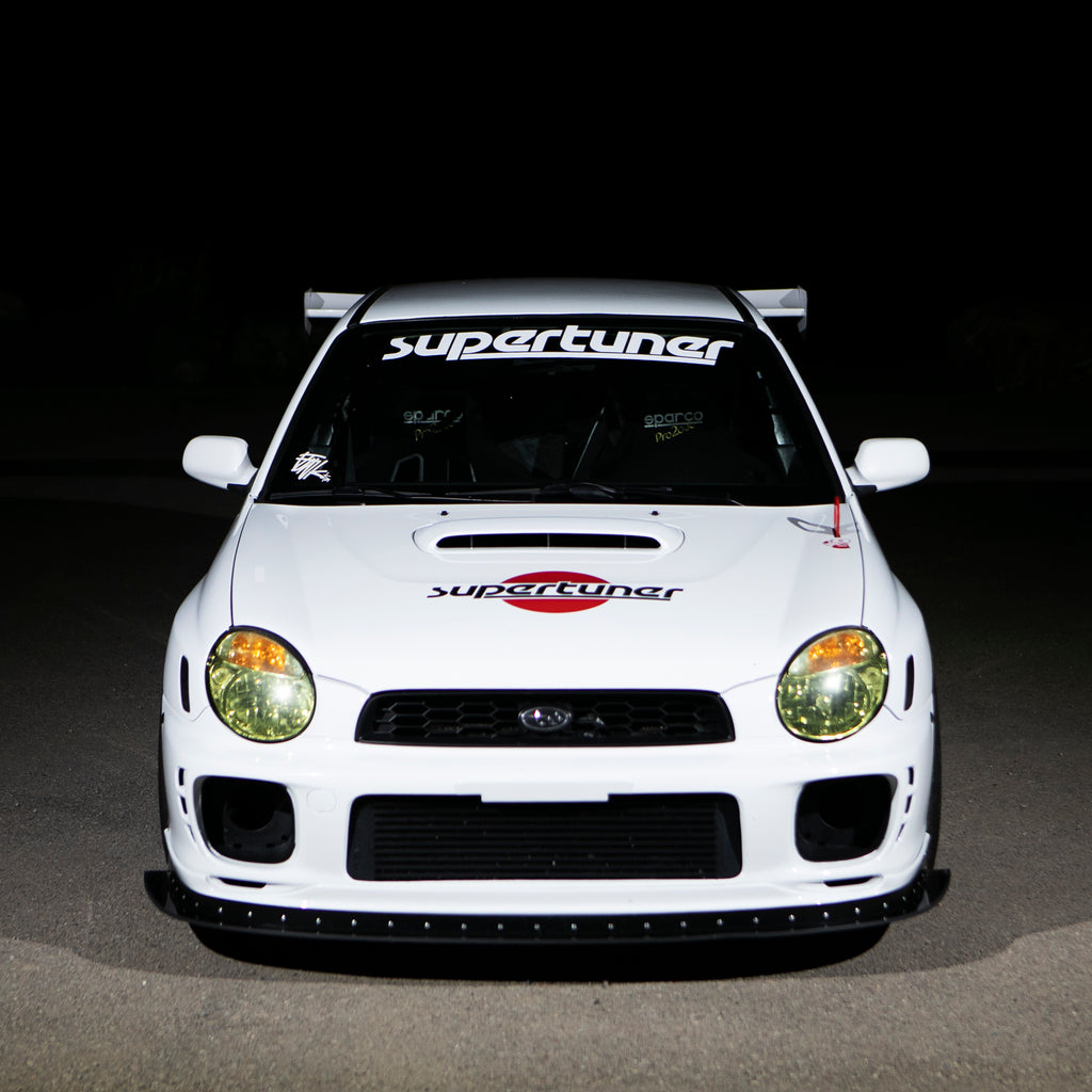"37"" SUPERTUNER WINDSHIELD BANNER"