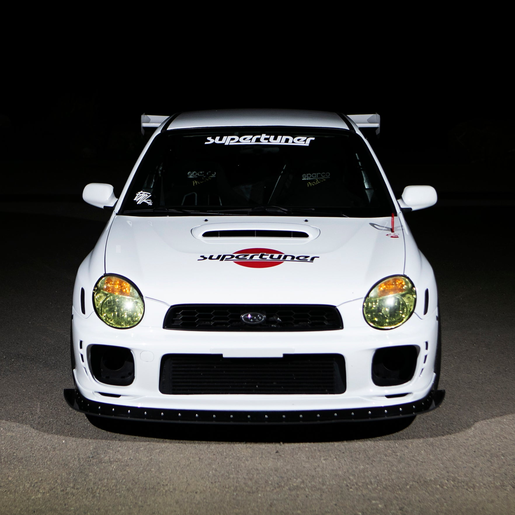 "24"" SUPERTUNER WINDSHIELD BANNER"