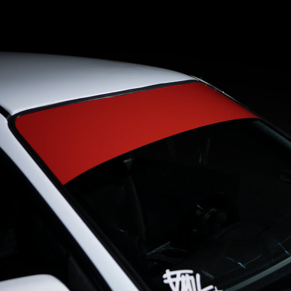 BLANK WINDSHIELD BANNERS