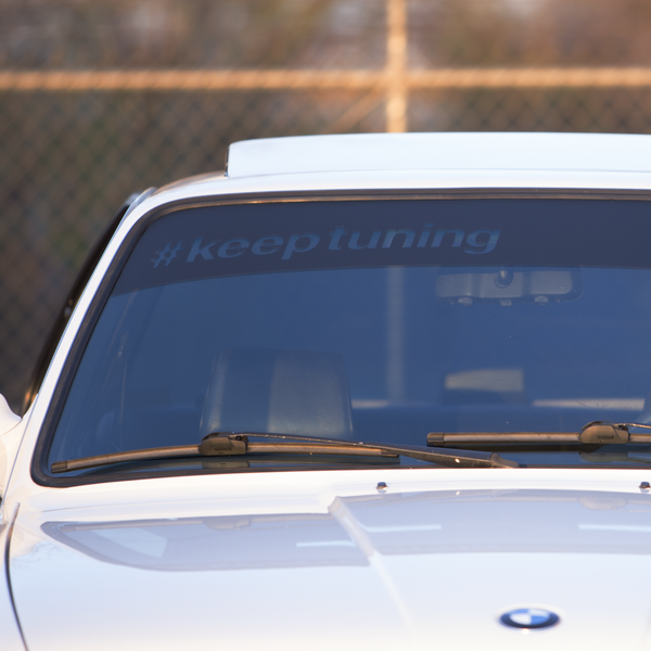 #KEEPTUNING WINDSHIELD BANNER