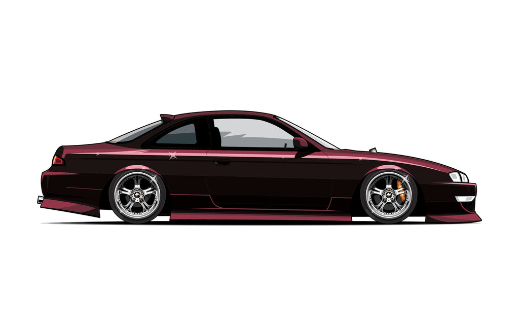 SUPERTUNER KOUKI STICKERS (2- PACK)