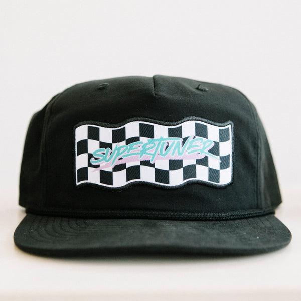 CHECKER SLASH SNAP BACK