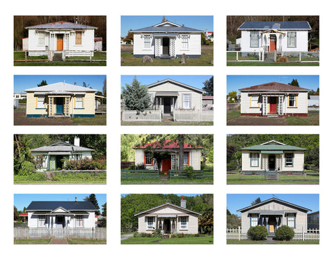 Railway Houses, NZ- 2013