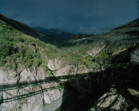 Waimakariri Gorge, from the Midland Line