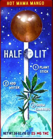 Half lit lollipops: Cannabis Infused Edible Review