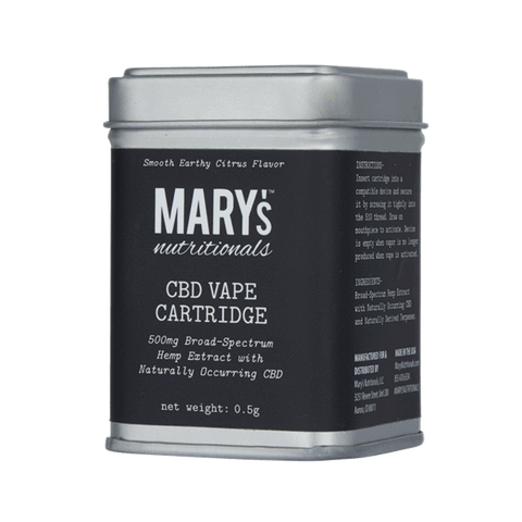 Mary's Nutritionals CBD Vape Cartridge - 500mg