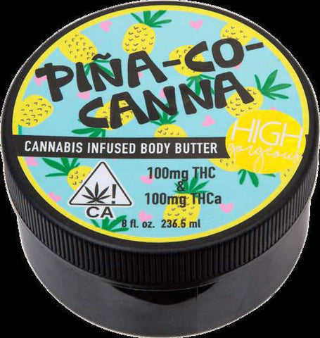 Pina-Co-Canna Body Butter