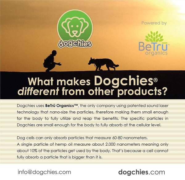 Dogchies - Peanut Butter Oil Tincture