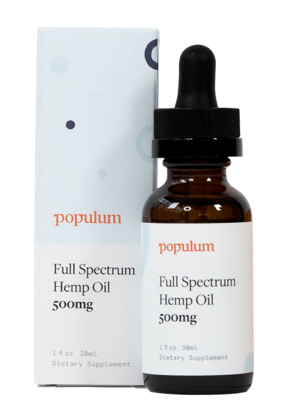 Full-Spectrum Hemp Oil