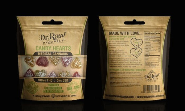 Best DrRaw Organics - THC Candy Hearts