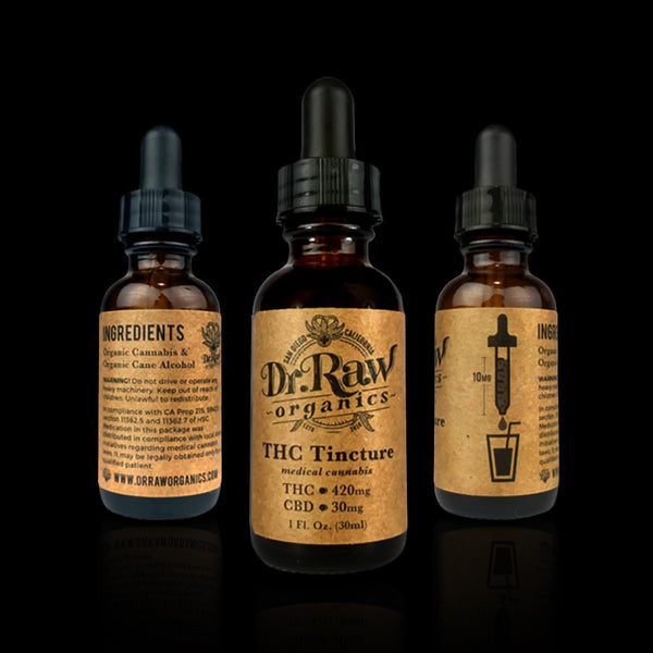 Adults Only 21 Up: Best DrRaw - Organics Tinctures