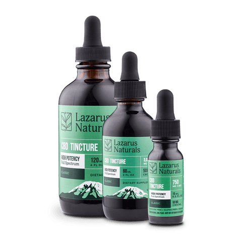 Lazarus Naturals - High Potency CBD Tincture