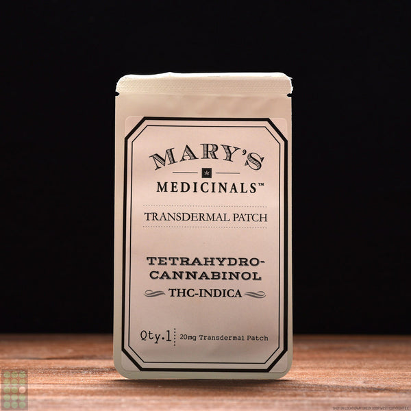 Mary's Medicinals - Transdermal Patch - THC Indica - GreenDoorWest.com - 1