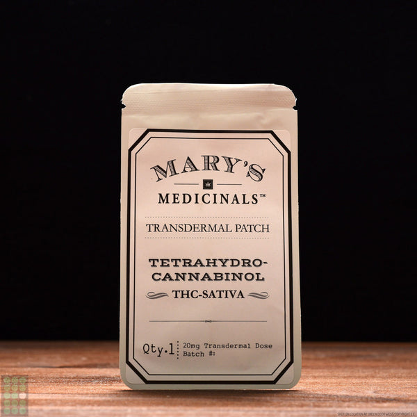 Mary's Medicinals - Transdermal Patch - THC Sativa - GreenDoorWest.com - 1