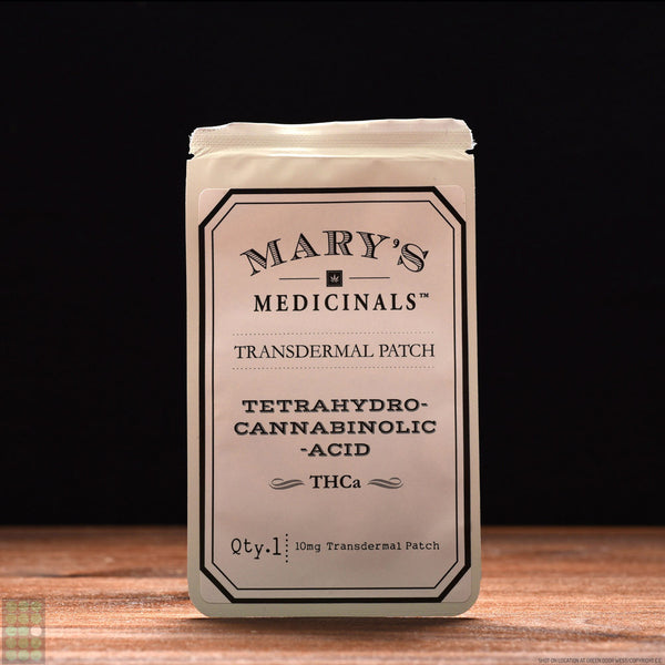 Mary's Medicinals - Transdermal Patch - THCa - GreenDoorWest.com - 1