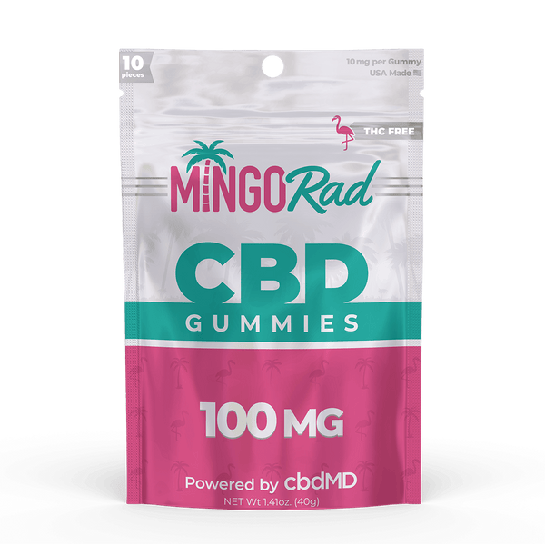 Best Mingo Rad - CBD Gummies 100mg - GreenDoorWest.com