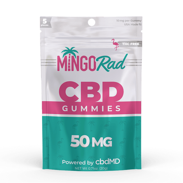 Best Mingo Rad - CBD Gummies 50mg - GreenDoorWest.com