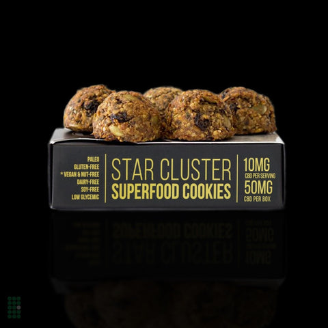 Star Cluster CBD Superfood Cookies