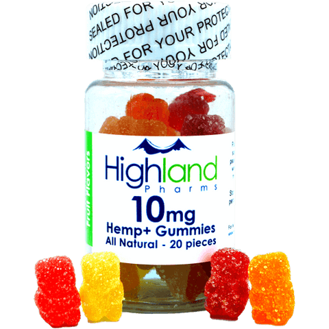 Hemp+ All Natural Gummies