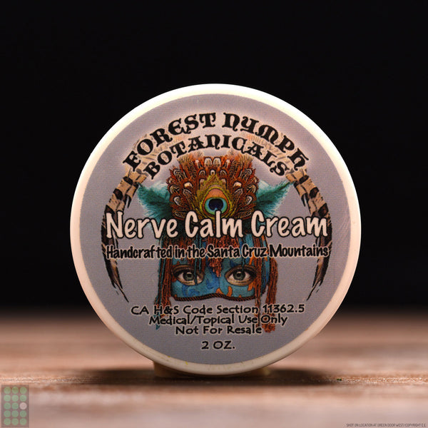Forest Nymph Botanicals - Pain Relief & Nerve Calm - Cream - GreenDoorWest.com - 1