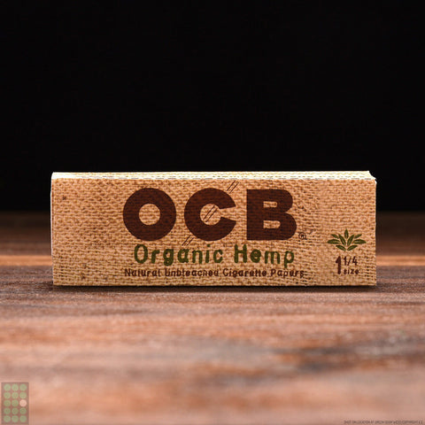 OCB - Organic Hemp Papers + Tips (2 in 1) - GreenDoorWest.com - 1
