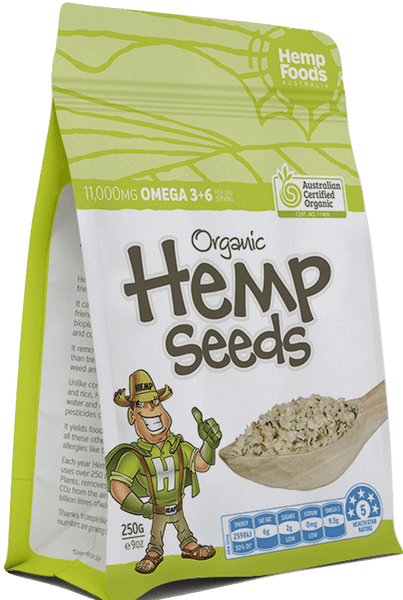 Hemp Seeds - 8oz