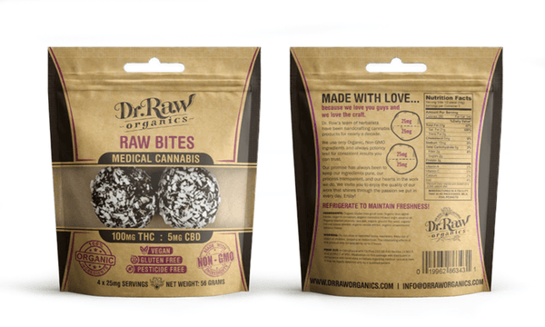Best DrRaw Organics - Raw Bites | GDW Cannabis Delivery
