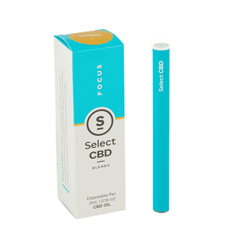 Select CBD - CBD Disposable Vaporizer Pen Peppermint - GreenDoorWest